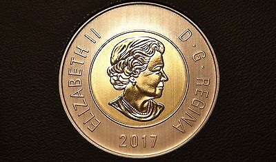 2017 Canada SPECIMEN TWO DOLLAR Coin – ALL NEW TOONIE from Specimen Set!