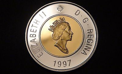 1997 Canada STERLING SILVER PROOF TWO DOLLAR Coin – NICE & RARE $2 Piece!