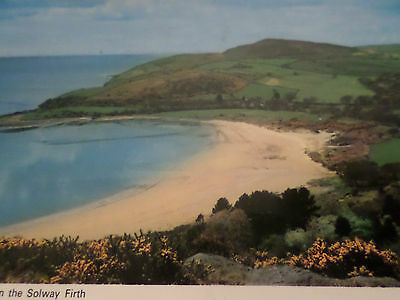 1976 Postcard Sandyhills on the Solway Firth
