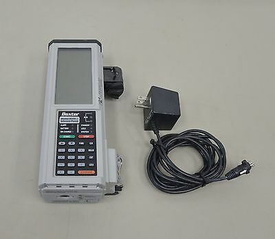Baxter AS50 Infusion Pump w/ AC Adapter (13027)