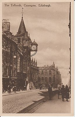 Edinburgh - The Tolbooth - Canongate - Real Photo Early Postcard
