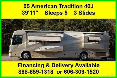2005 Fleetwood American Tradition Used Diesel Pusher RV Coach Motor Home MH