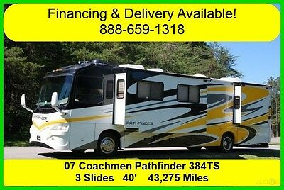 2007 Coachmen Pathfinder Used Diesel Pusher Motor Home Coach RV MH Motorhome