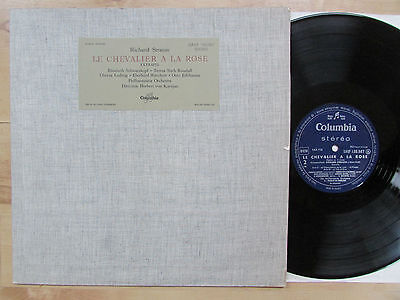Columbia Saxf 130 507 - French Stereo - Karajan - Le Chevalier A La Rose - Ex/nm