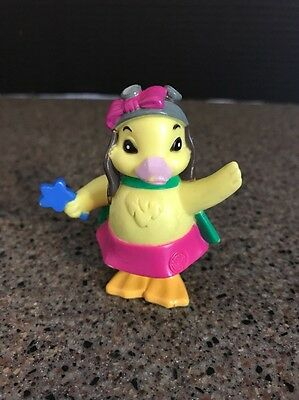 "2007 Ming Ming Duckling Duck 2.75"" PVC Plastic Action Figure Wonder Pets"