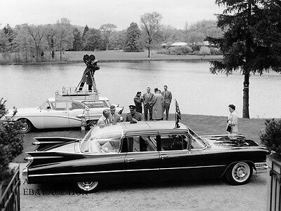1959 Cadillac Fleetwood Seventy-Five Special Limousine model introduction press