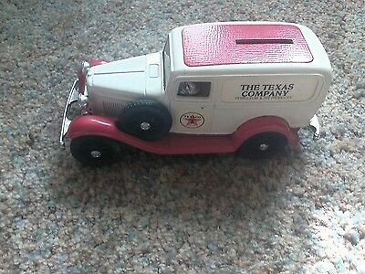 1939 Ford Texaco Delivery Truck Die Cast Bank