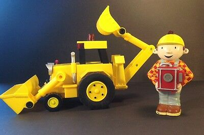Bob The Builder Follow Me Scoop By Learning Curve Remote Control