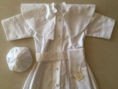 Boy / Toddler Christening Baptism Gown NEW