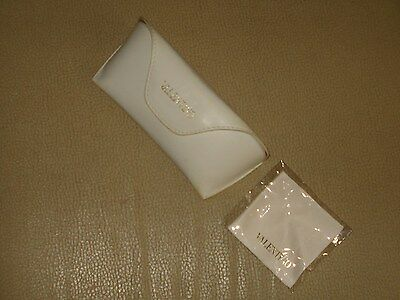 VALENTINO Sunglasses Glasses Case with Cleaning Cloth