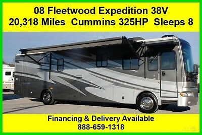 2008 Fleetwood Expedition Used Diesel Pusher Motor Home Coach RV MH Class A
