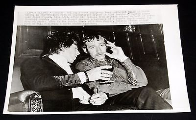 1967 THE ROLLING STONES Keith Richards After Prison Release 7x9 Press Photo
