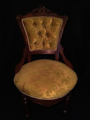 c.1870 Eastlake Victorian SIDE CHAIR