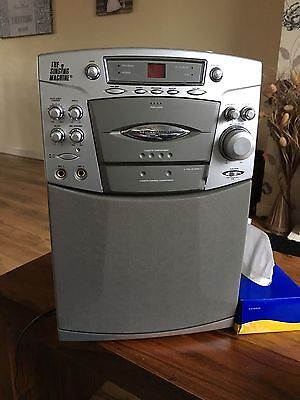 The Singing Machine Smg-190 Cd And Cassette Karaoke Machine 1 Microphone