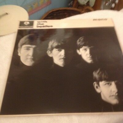WITH THE BEATLES LP RARE UK STEREO 1st PRESSING