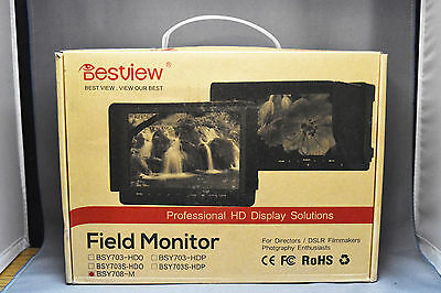 "NEW Field Monitor for DSLR 7"" Inch LCD HD HDMI Input for Nikon and Others"