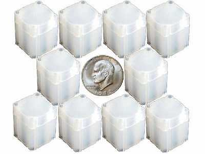 Large Dollar Square Coin Tube Storage, Numis Brand 38mm - 10 pk