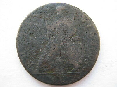 1698 William III Farthing date in legend Poor