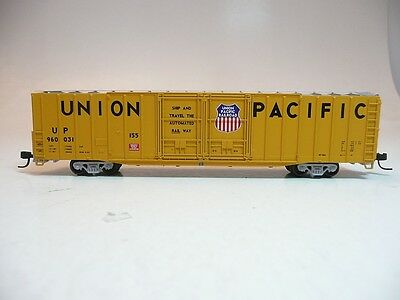 N scale Athearn 60' PS dbl door boxcar Union Pacific UP #960031