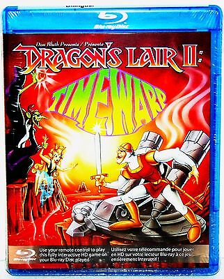 Dragon's Lair II: Time Warp SEALED NEW... RARE