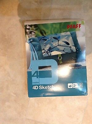Pfaff 4D Sketch Embroidery System with Wacom Inspira Tablet