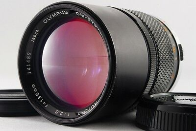 Excellent+++ OLYMPUS OM SYSTEM ZUIKO MC AUTO-T 135mm 2.8 MF Lens From 1160060