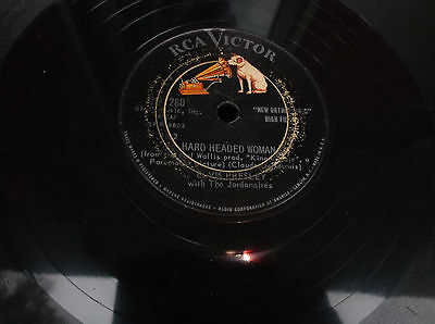 Elvis Presley Hard Headed Woman Collectible Vintage 78 RPM Record RCA Victor Old