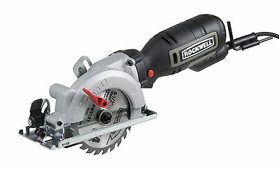 Rockwell RK3441K Compact Size Circular Saw Kit  4-1/2-inch Blade 5-Amp