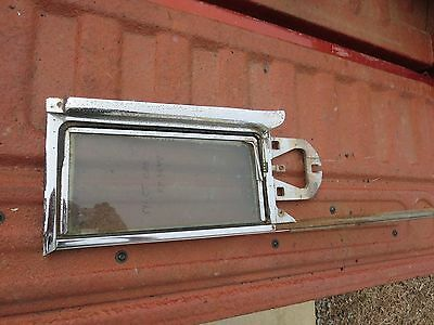 1954 1955 Cadillac Coupe Passenger Side Vent Window Assembly, Rare
