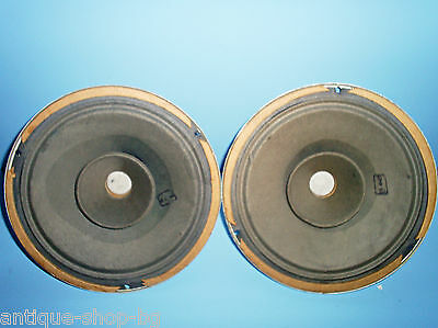 """Two (Pair) 6"""" 2Gd3 2Гд3 2Gd-3 Fullrange Russian Soviet Radio Speakers With Cones"""