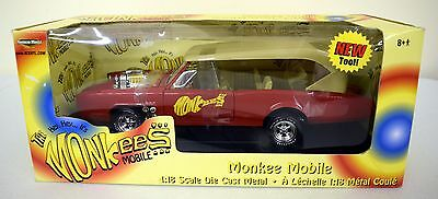 Amazing American Muscle Ertl Collectibles The Monkees Mobile Brand New!
