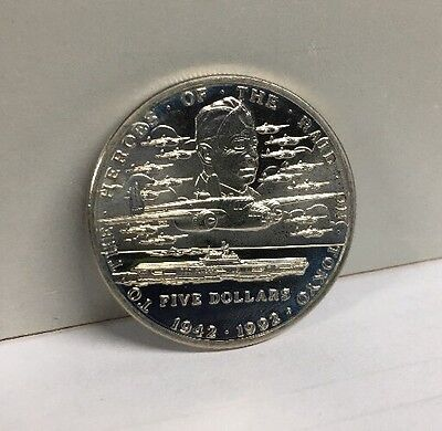 1992 Republic Of the Marshall Islands Tokyo Raid Heroes Commemorative Coin
