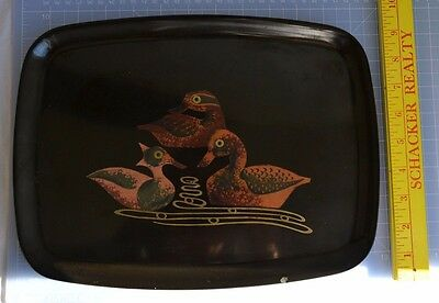 """Couroc of Monteray Giftware - 3 Duck Tray - 13"""" x 9 1/2"""""""