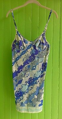 Vintage 1960s Emilio Pucci for Formfit Rogers Sleeveless Camisole Bustier Top