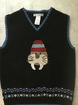 Janie And Jack  Boys Sweater Vest Size 5T