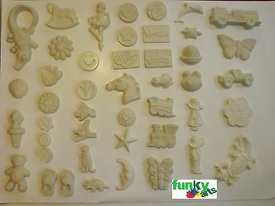 25x Assorted Plaster Pieces. READY TO PAINT. Perfect for Kids, Schools & Fetes