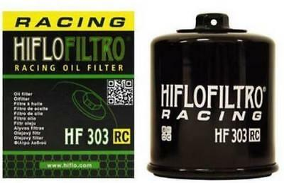 HiFlo Racing Oil Filter HF303RC 14-1303 0712-0438 550-0303R 314-0303RC Black