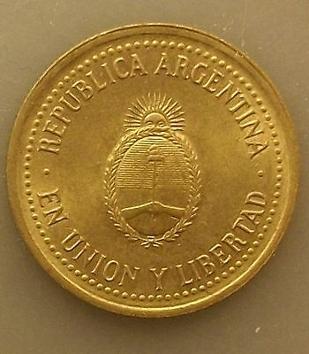 Argentina 10 Centavos 1992 Uncirculated KM#107 pwwoqy