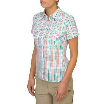 The North Face W Boulder Kassie Shirt red plaid