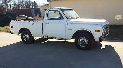1972 GMC Other  1972 GMC c10 pick up truck Patina custom project chevy C 10