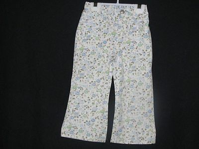 Baby Gap Floral Size  2 Years  Girls 100% Cotton Pants Everyday Spring