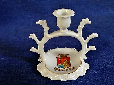 Gemma Crested China. Scarborough. A fine candlestick.