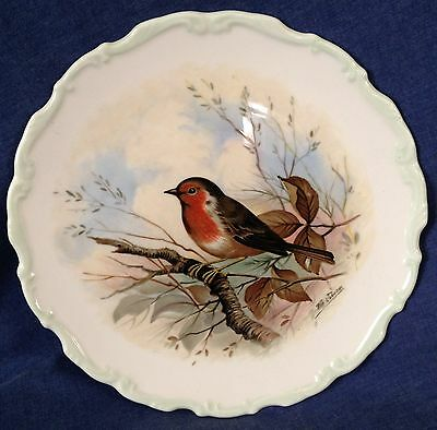 Royal Albert. Collector's Plate. The Woodland Birds Collection. Robin.