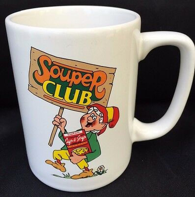 Souper Club MARYLOU Keebler Elf Vintage Coffee Mug 8oz Tea Cup Lipton