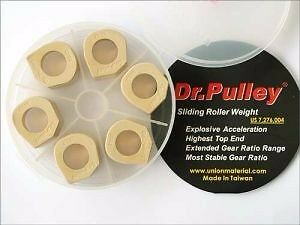 Free shipping Dr.Pulley Slider Roll Kymco Xciting 400i 400 KXCT 25x20 14g~17g