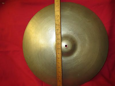 "Vintage Avedis Zildjian 20"" Cymbal 1870 g c-1955 USA GENUINE TURKISH NO DINGS"