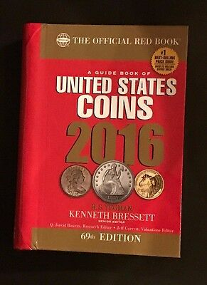 A Guide Book of United States Coins 2016 The Official Red Book Hardcover Edition