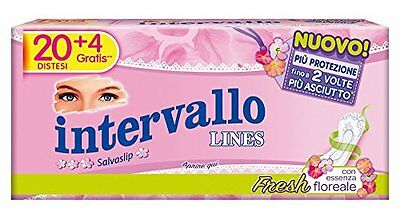 Lines intervallo fresh disteso x20 -Salvaslip distesi