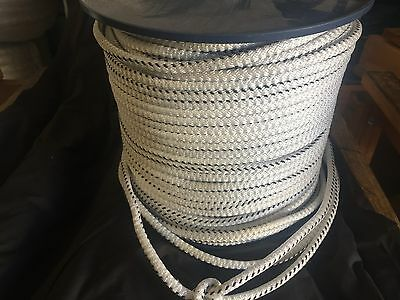 BRAIDED POLYPROPYLENE ROPE 8mm x 200m SPOOL NEW MARINE & INDUSTRIAL CORD