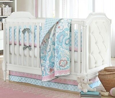 Pottery Barn Crib Bed Skirt Addie